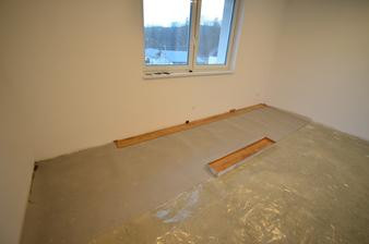 Plávajúca podlaha - druhá najjednoduchšia vec na stavbe hneď po podlahovom kúrení :)