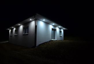 Vonkajsie osvetlenie domu