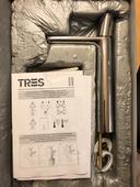 Umývadlová batéria Loft Tres chróm nepoužitá,