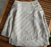 Elegantná sukňa so stuhou, S