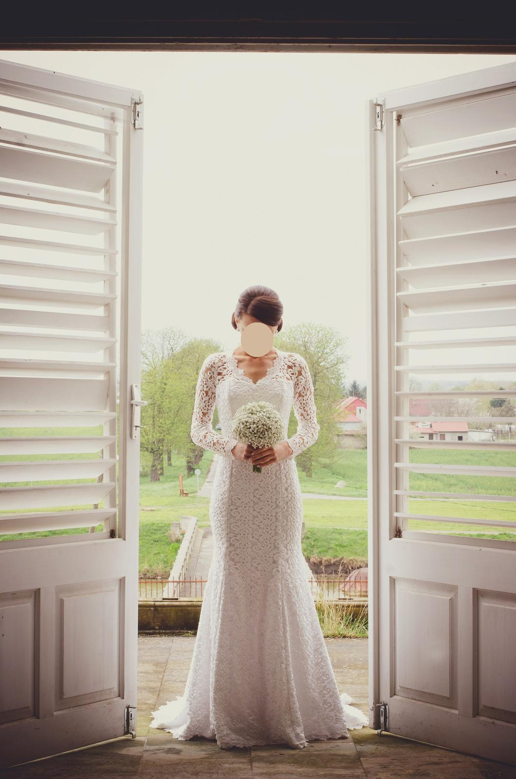 Luxusné krajkové šaty - Obrázok č. 2