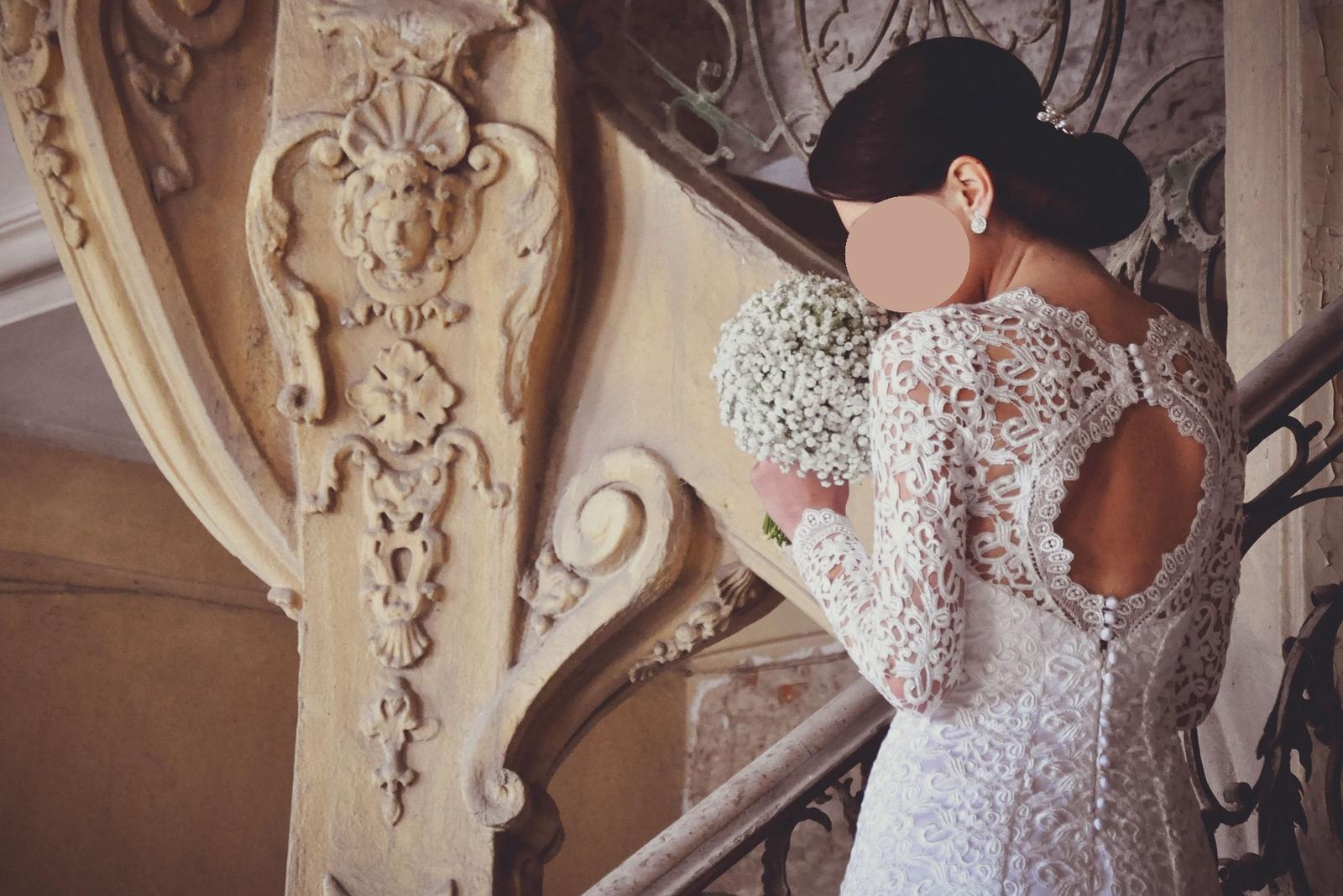 Luxusné krajkové šaty - Obrázok č. 3