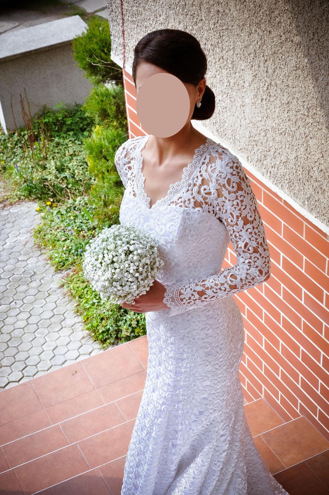Luxusné krajkové šaty - Obrázok č. 4
