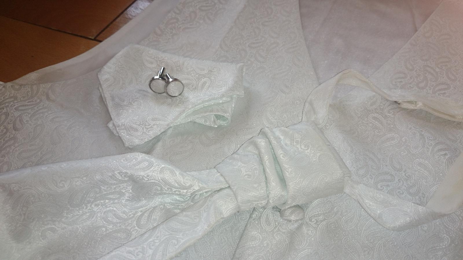 Luxusný svadobný set pre ženícha - Obrázok č. 2