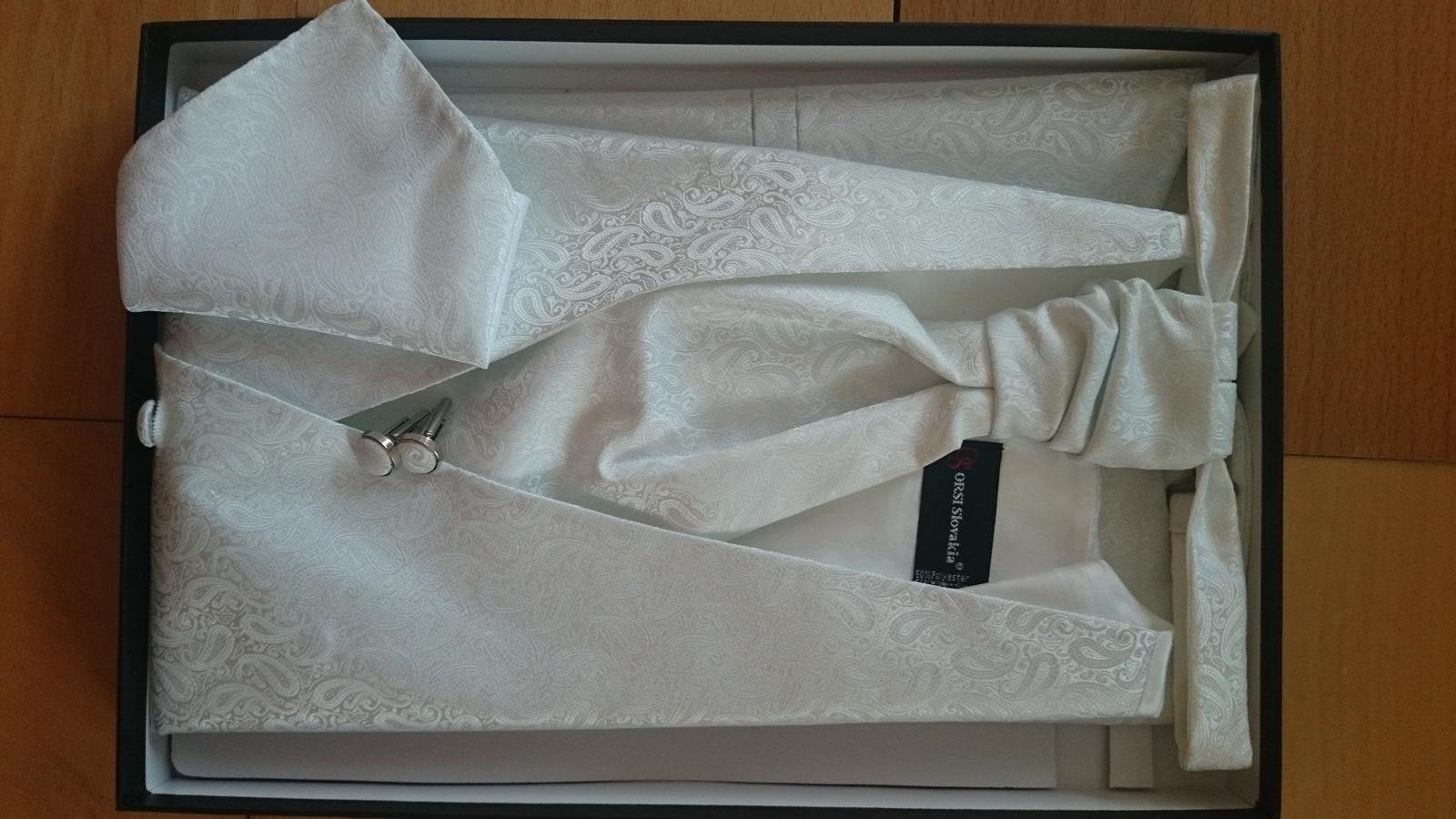 Luxusný svadobný set pre ženícha - Obrázok č. 3