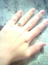 Na Štědrý den jsem dostala zásnubní prstýnek.