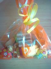 Balíčky sladkostí pro děti už jsou připravené.