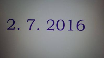 Datum našeho velkého dne :)