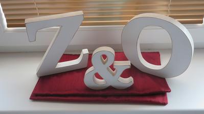 písmena na stůl 20 cm vysoká