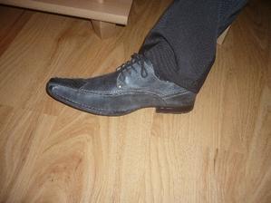 boty od ženicha...na noze