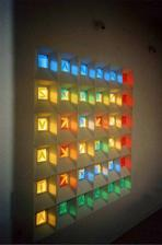 ... vitraz...krasna hra so svetlom a farbami...:)