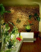 """......kvetinove dekoracie...v pozadi """"obilna stena"""":)"""