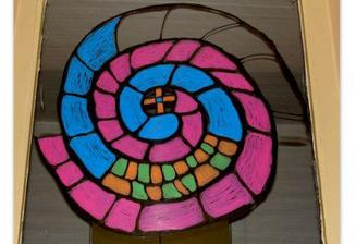 "....ako vyuzit prazdnu sklenenu vitrinu...???...jednoduxo...""bujacenie so specialnymi farbami"":).../cast 1./"