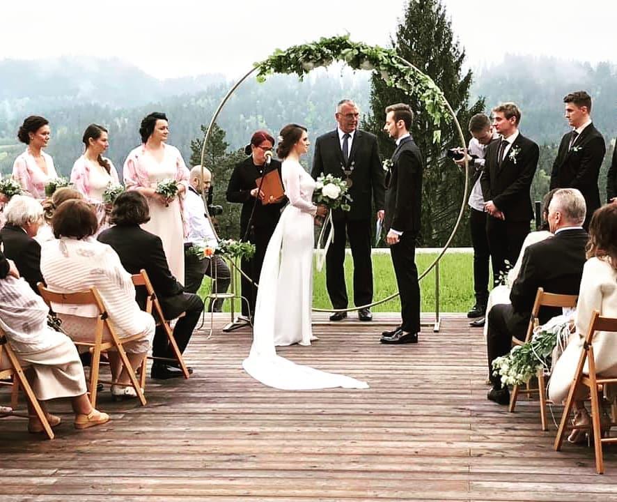 Svatební sezóna 2019 - Ozvučení svatebního obřadu