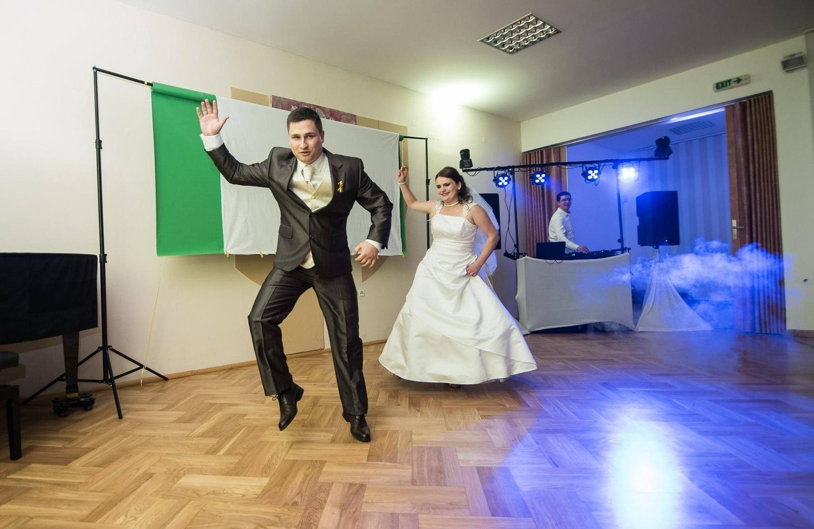 Svatební sezóna 2019 - Novomanželský tanec trochu jinak :-)