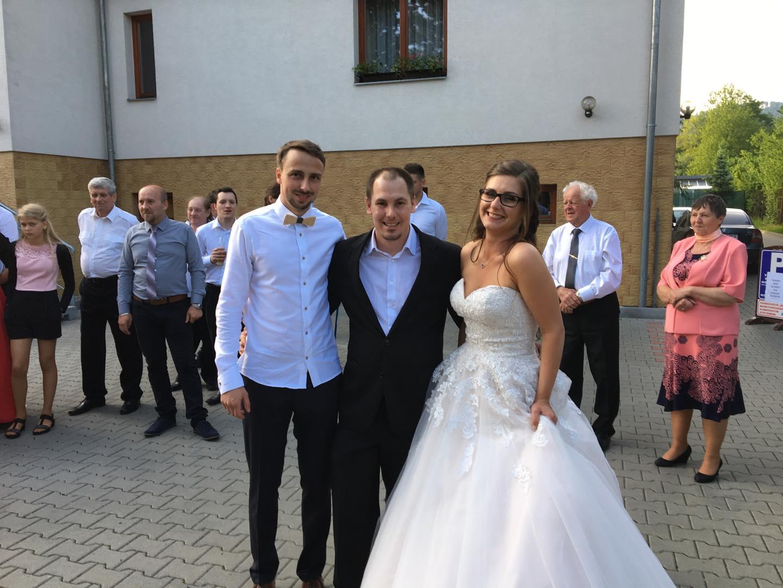 Svatební sezóna 2019 - Martin Janoš s novomanželi