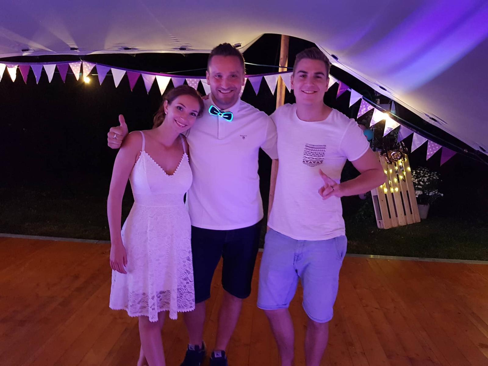 Svatební sezóna 2019 - Svatba Davida Gránského