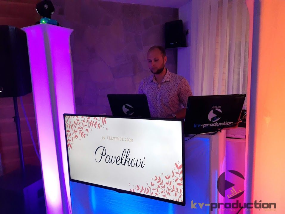 kv_production - DJ Kryštof Čeporan a naše audiovizuální stage