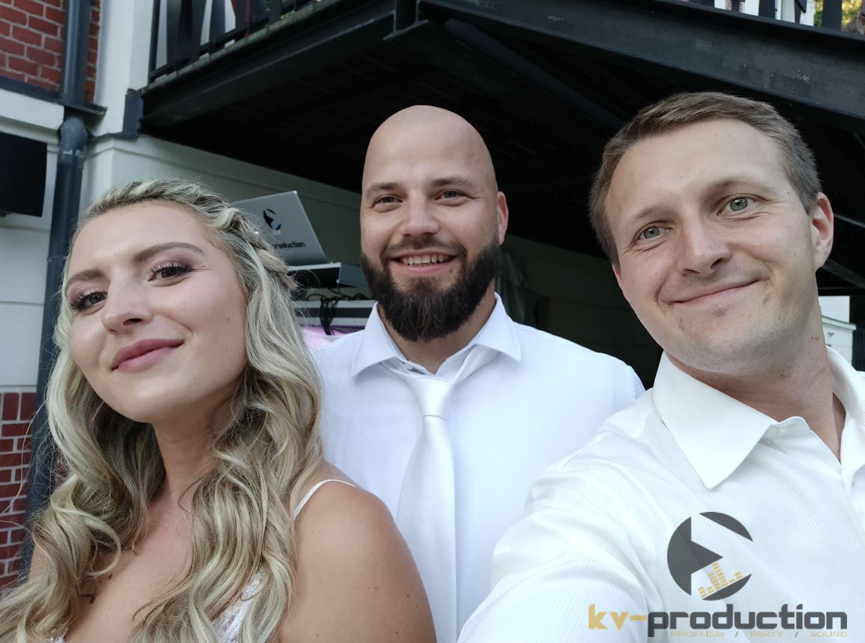 kv_production - DJ Michal Blaha s novomanželi na Vile Landek v Ostravě