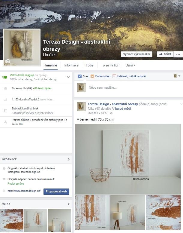 Tereza Design - Střecháčci, komu se líbí mé obrazy, moji práci můžete sledovat také na sociální síti facebook