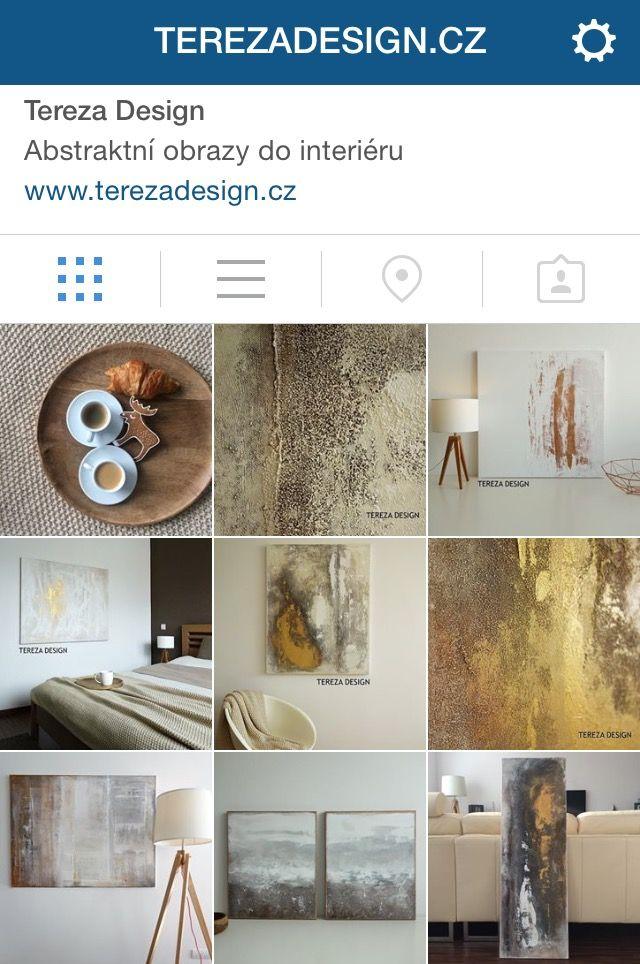 Tereza Design - Pokud rádi používáte instagram, můžete si mne najít pod jménem terezadesign.cz ;-)