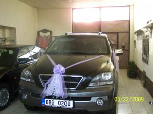 Moje nazdobené autko