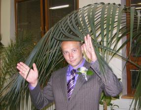 Manžel si myslel že je už někde na palmové riviéře :o)