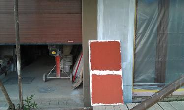 Vybíráme si druhou barvu fasády. Hlavní- bílá