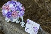 Svadobná kytica, dekorácia ,