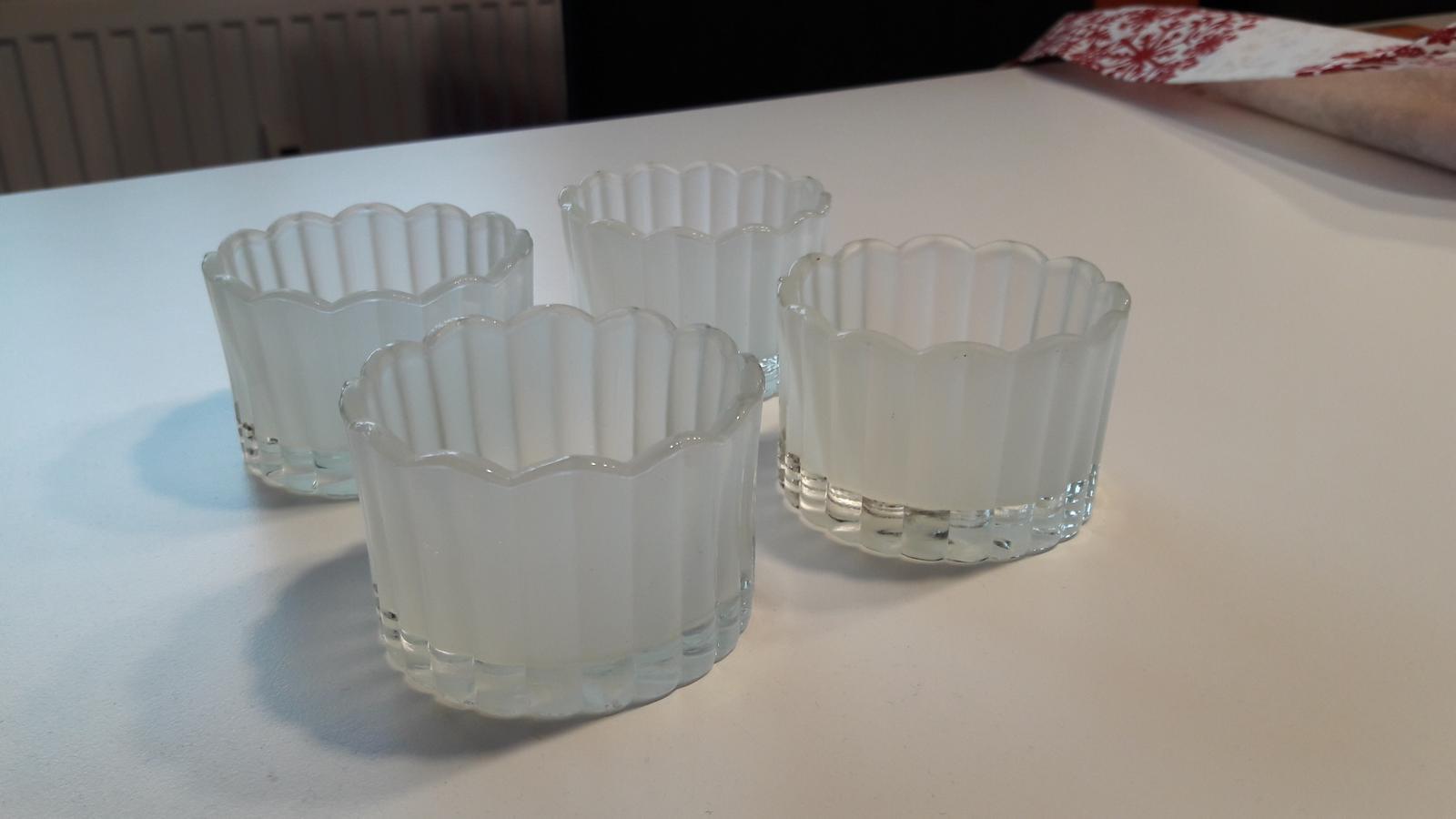 Matné svícínky na čajovou svíčku  - Obrázek č. 1