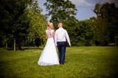 Krajkou pošité svatební šaty, 36