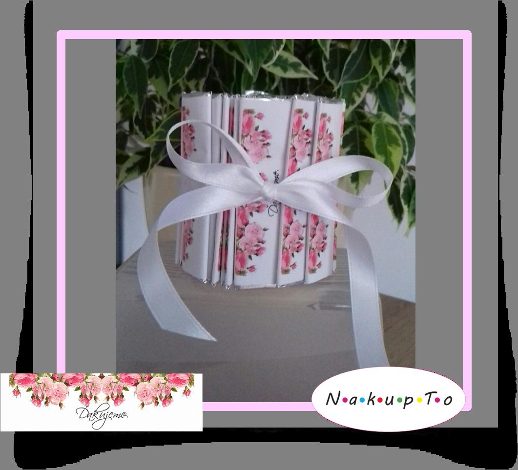 Svadobné žuvačky - balíček 50ks s nápisom  - Obrázok č. 1