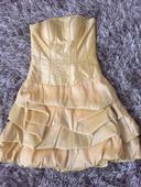 Žluté společenské šaty , 36