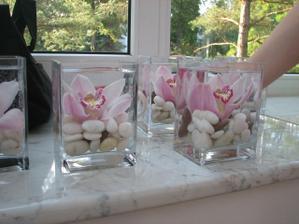 vázy na svadobné stoly