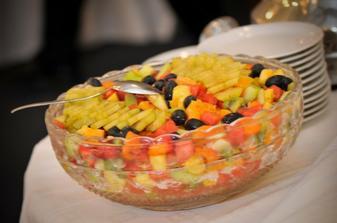ovocie k čokofontáne