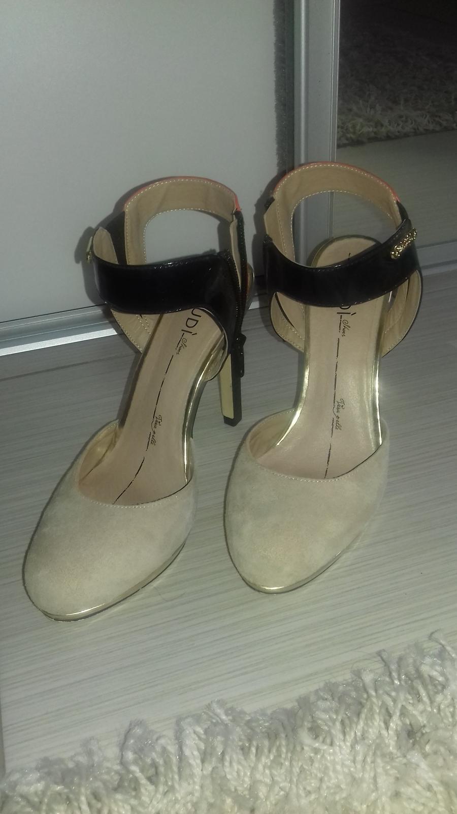 Sandalky GAUDI - Obrázok č. 1