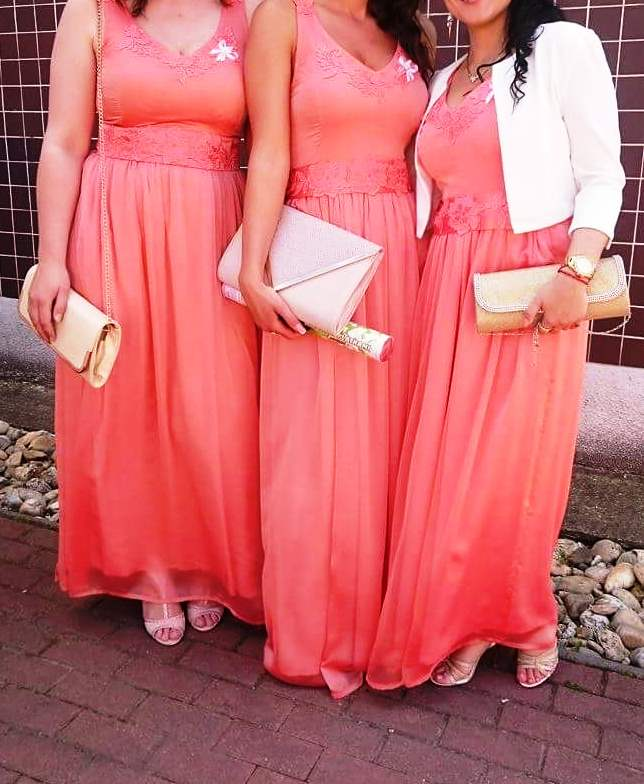 Spoločenské šaty - pre družičky - Obrázok č. 1