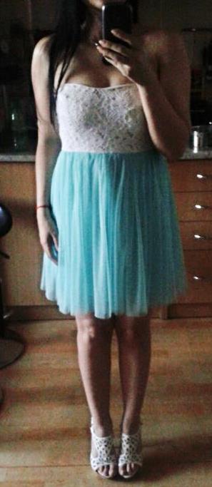 Mentolove šaty - Obrázok č. 1