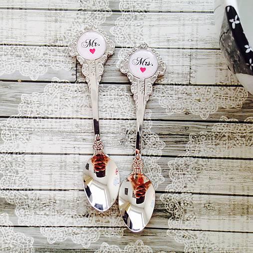 simka_manzetkova - Dezertné svadobné lyžičky ako nezvyčajný darček pre novomanželov