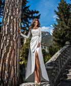 Elegantné svadobné šaty, 42