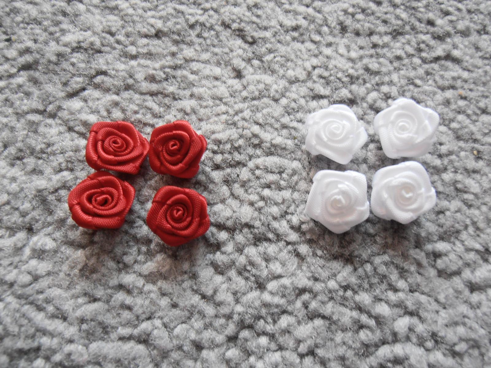 Textilná ružička, 15mm - Obrázok č. 1