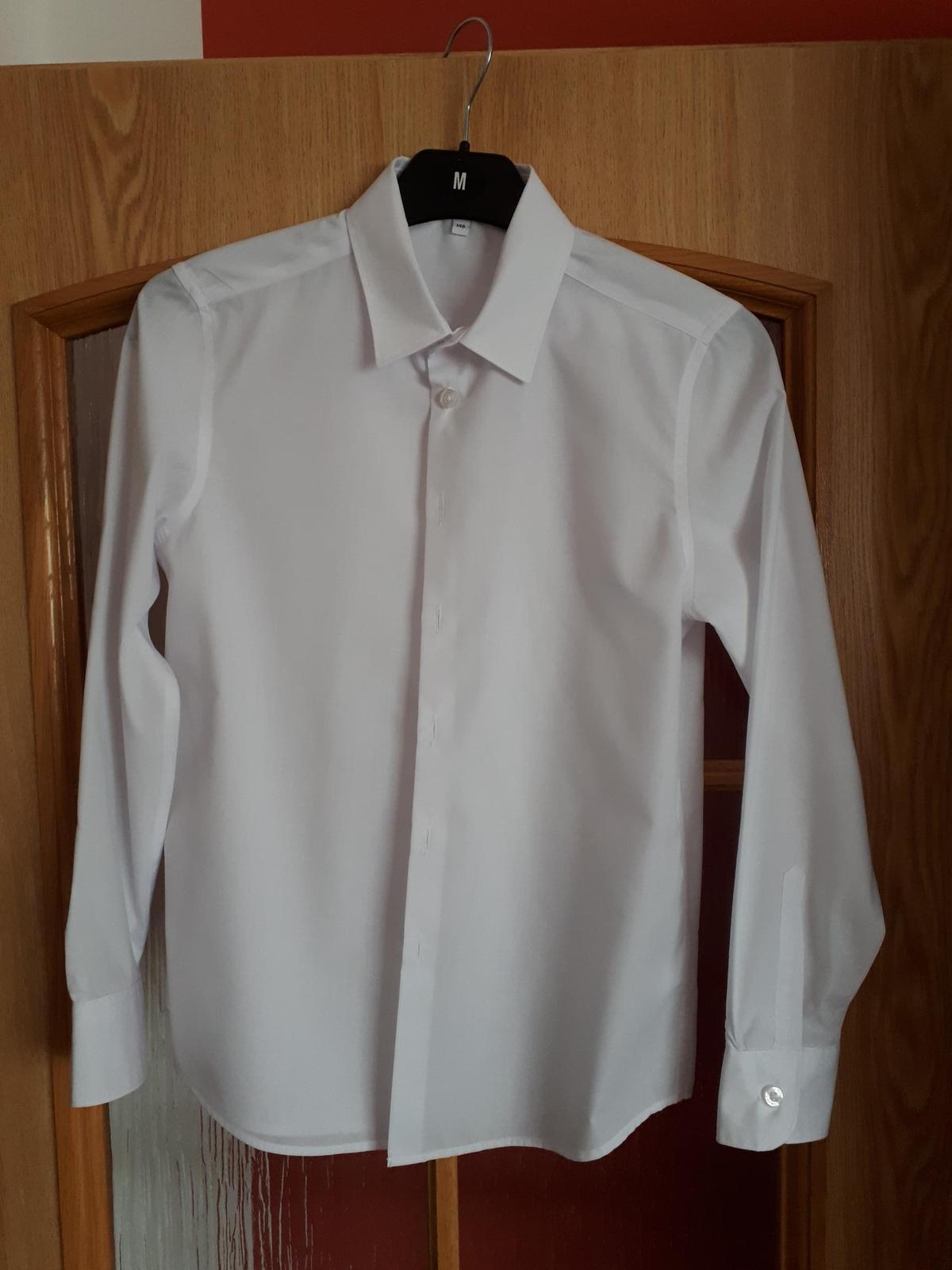 Bílá chlapecká košile - Obrázek č. 1