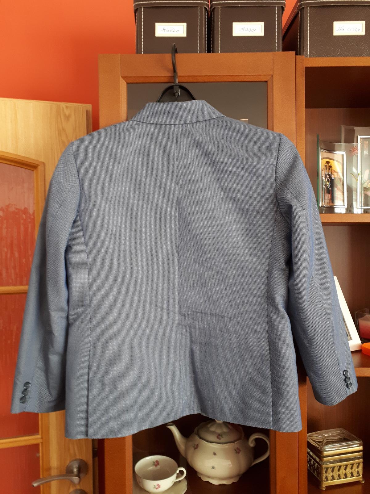 Modré chlapecké sako - Obrázek č. 2