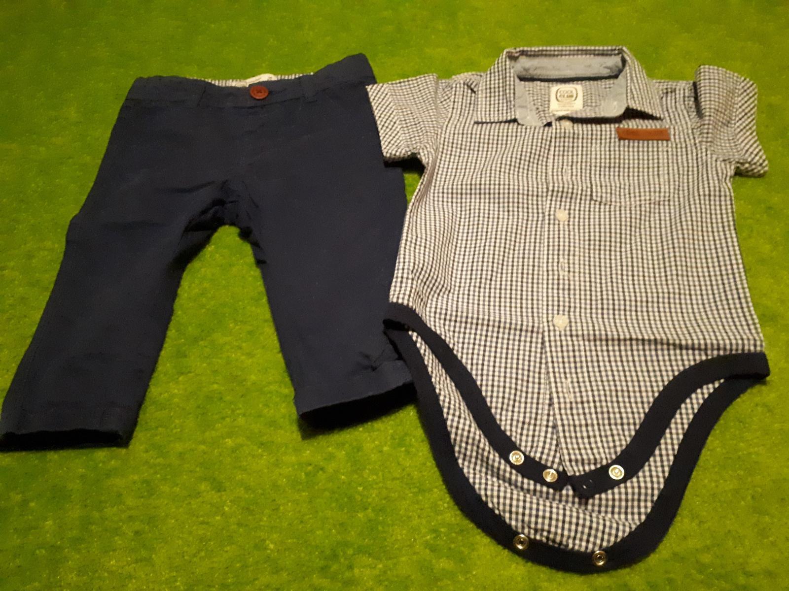 Společenská souprava (body a kalhoty) - Obrázek č. 1