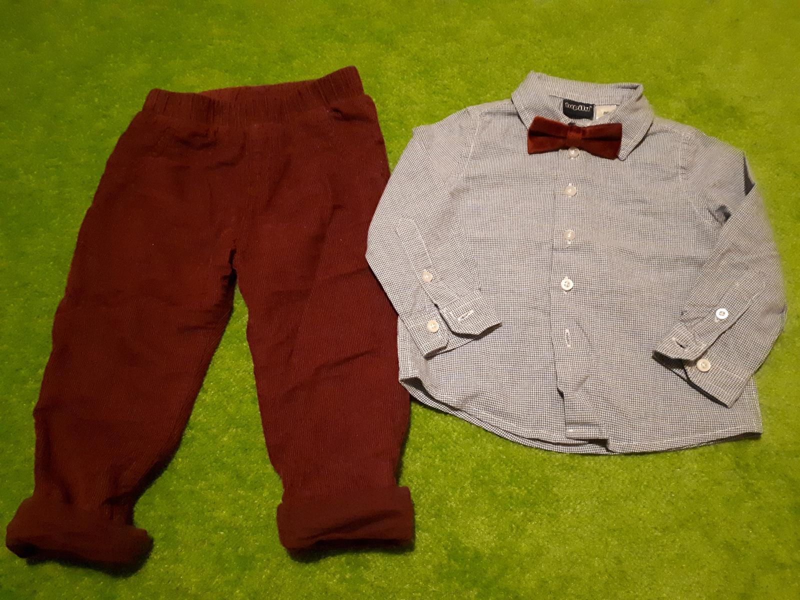 Společenský oděv (košile s motýlkem, kalhoty) - Obrázek č. 1