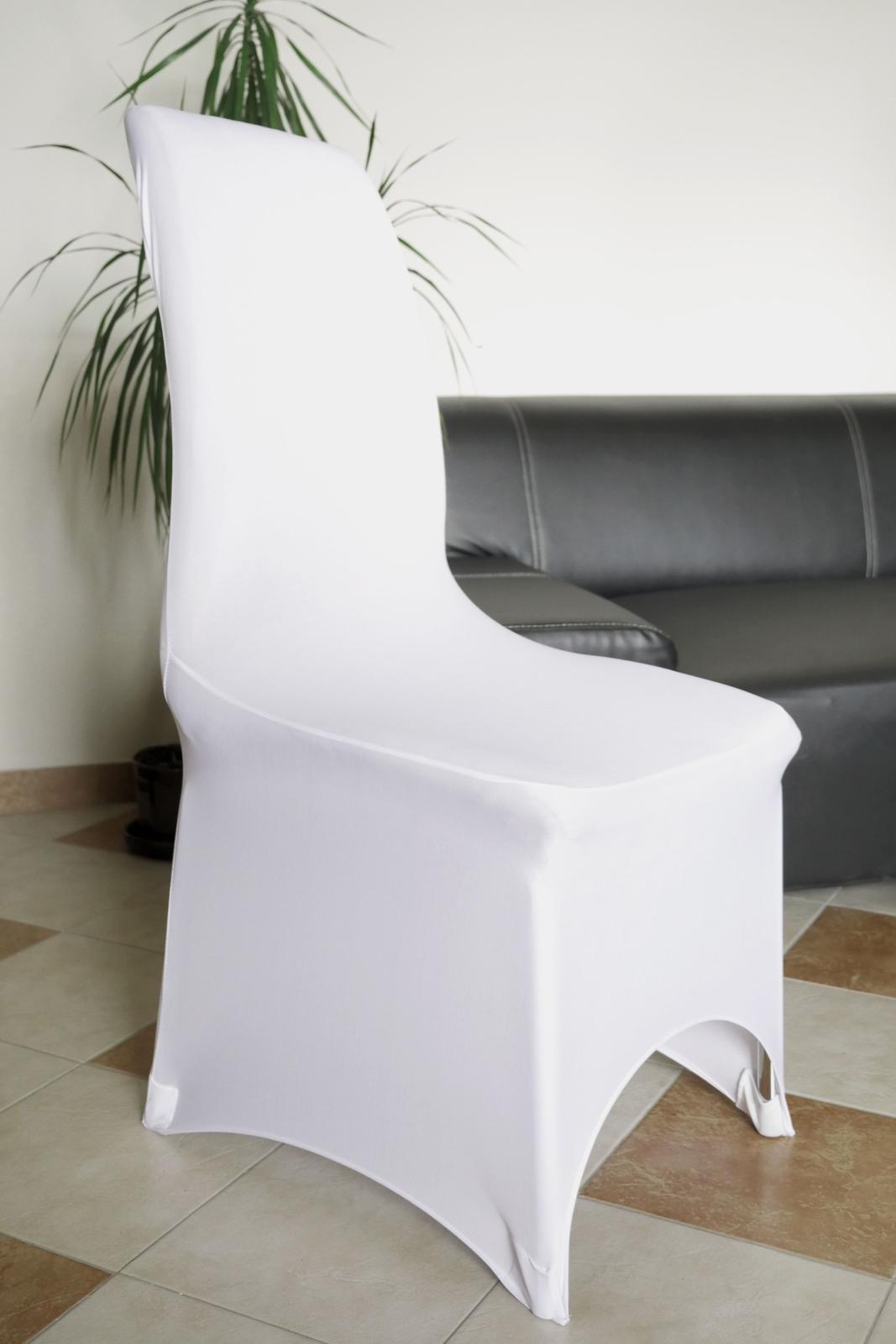 Spandexové návleky / potahy na židle - Obrázek č. 1
