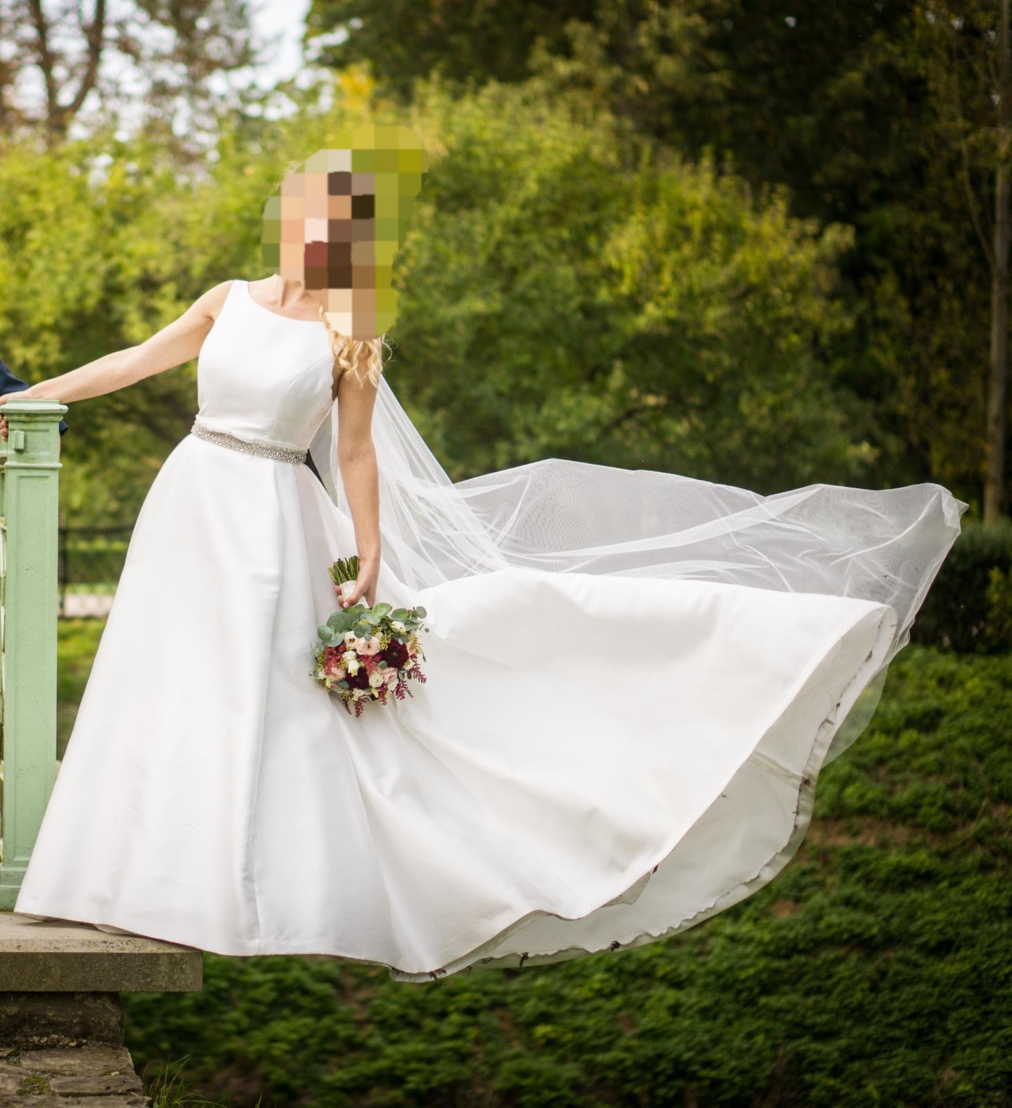 Svatební šaty Jesus Peiro model 913 ivory - Obrázek č. 1