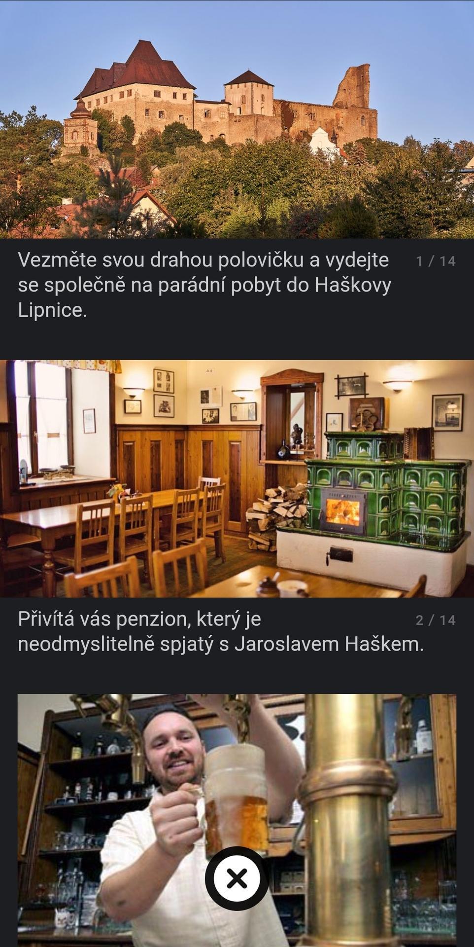 Nabízím pobyt v Lipnici... - Obrázek č. 1