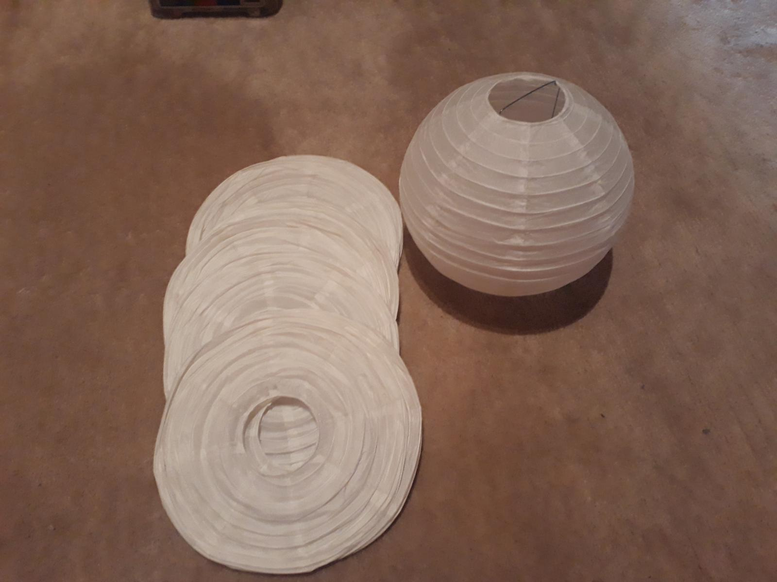 Závěsné papírové koule - Obrázek č. 1