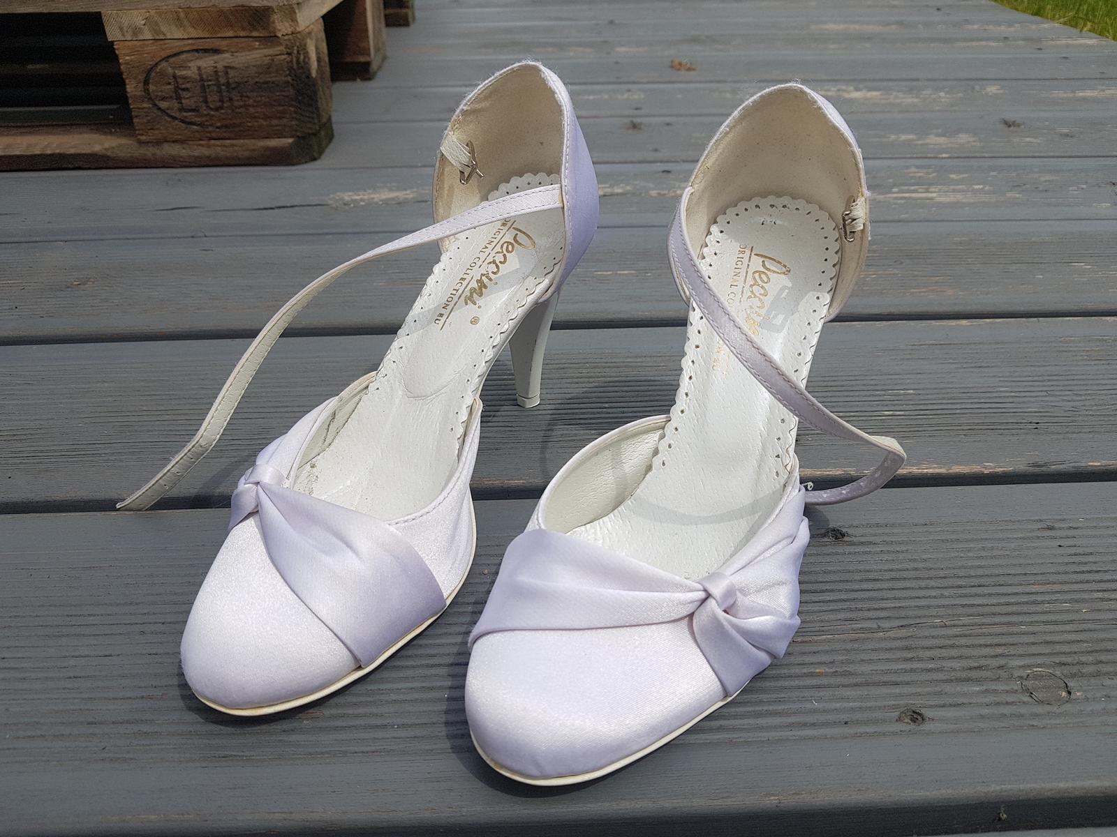 Svatební boty Peccini - Obrázek č. 1
